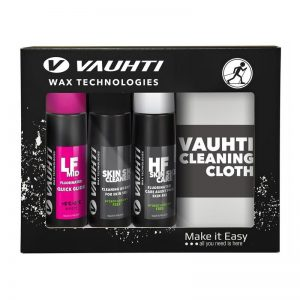 KV+ Quick kit Skin 3 bottles+ Polishing cloth 7037