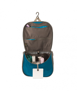 Sea To Summit Travellight Toiletry Hanging Bag Large Blue/Grey