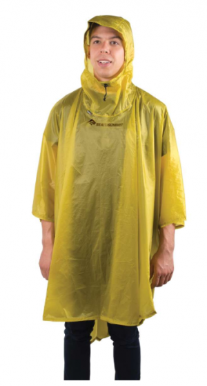 Sea To Summit Poncho 15d Ultrasilicone Lime