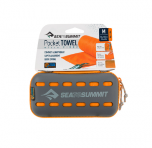 Sea To Summit Pocket Towel Medium 50x100cm Orange