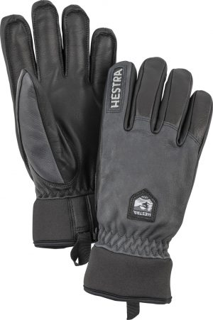 Hestra Army Leather Wool Terry – 5 Fingers