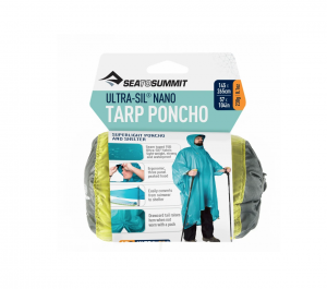 Sea To Summit Poncho 15d Ultrasilicone Tarp 145x265cm Lime