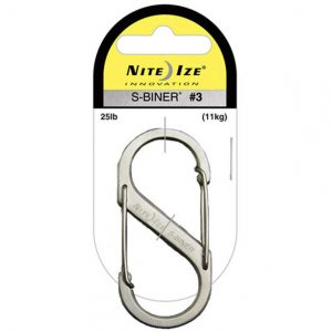Nite Ize S-Biner Size #3 – Stainless