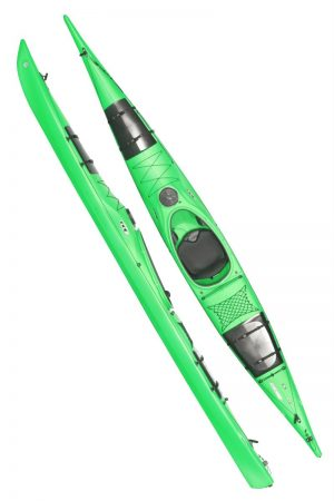 Seayak 500 Lime (inkl. Luxus roder)