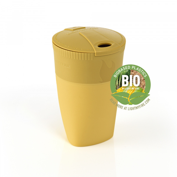 Light My Fire Pack-Up Cup Bio Mustyyellow