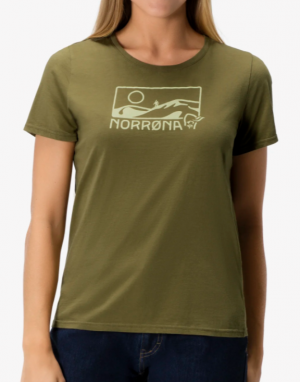 Norröna /29 Cotton Touring T-Shirt Dam