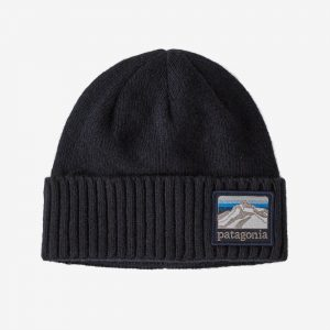 Patagonia Brodeo Beanie – Line Logo Ridge: Classic Navy – All