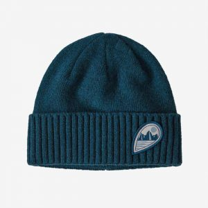 Patagonia Brodeo Beanie – Tube View: Crater Blue – All