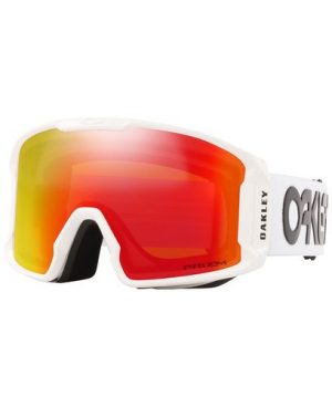 Oakley Line Miner XL – Factory Pilot White – Prizm Torch GBL