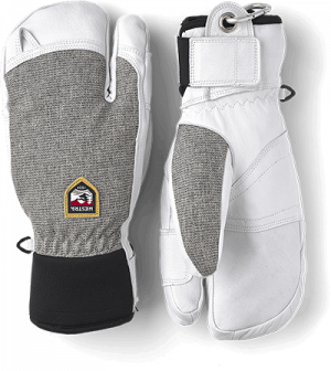 Hestra Army Leather Patrol 3- finger