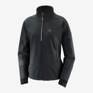 Salomon Lightning Warm Softshell Jkt Dam