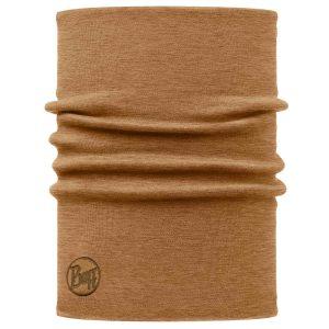 Buff Heavyweight Merino Wool – Solid Camel – Onesize